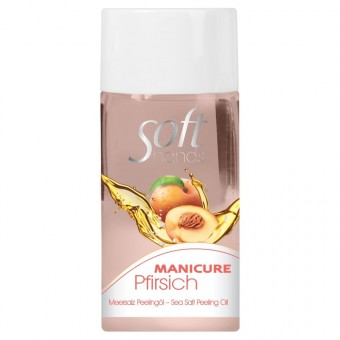 MANICURE Peach 110 ml Sea Salt Peeling Oil